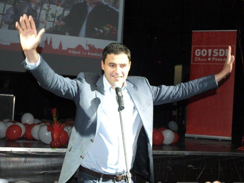 Davor Bernardić , novi šef SDP-a