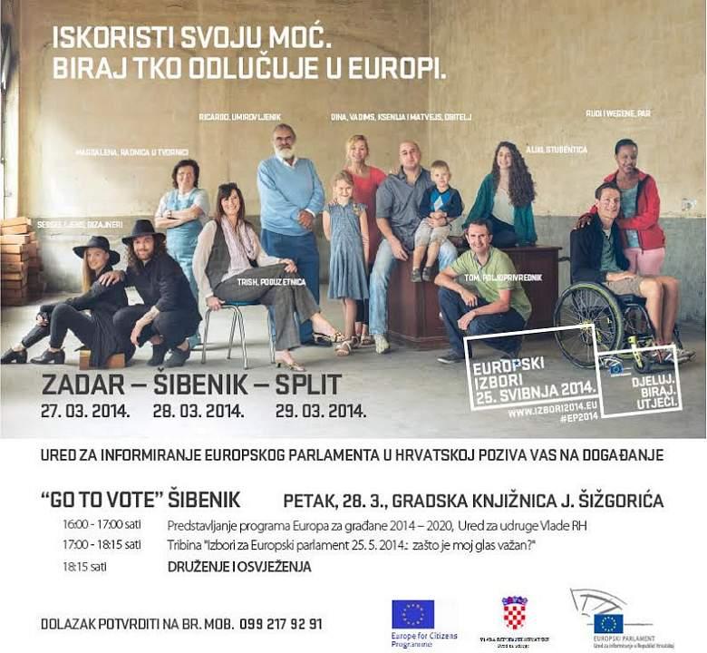 Dalmatinska mini turneja uoči izbora za Europski parlament