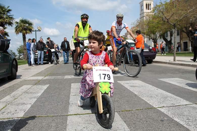 FOTO Rekordan broj sudionika na Biciklijadi 2014 u Šibeniku