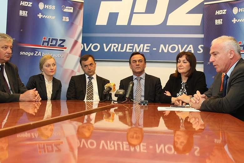 HDZ u Šibeniku predstavio koalicijsku listu za EU parlament: Iseljenička, seljačka, braniteljska… Hrvatska