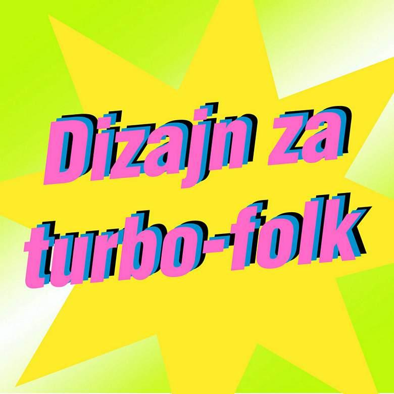 Turbo-folk: stigoše i u galeriju Hrvatskog dizajnerskog društva (gratis FOTO+VIDEO)