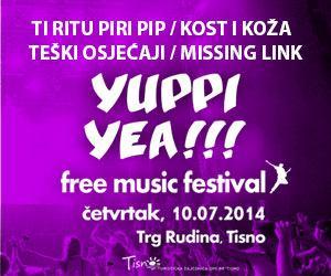 Yuppi Yea!!! – Rokerski festival u Tisnom