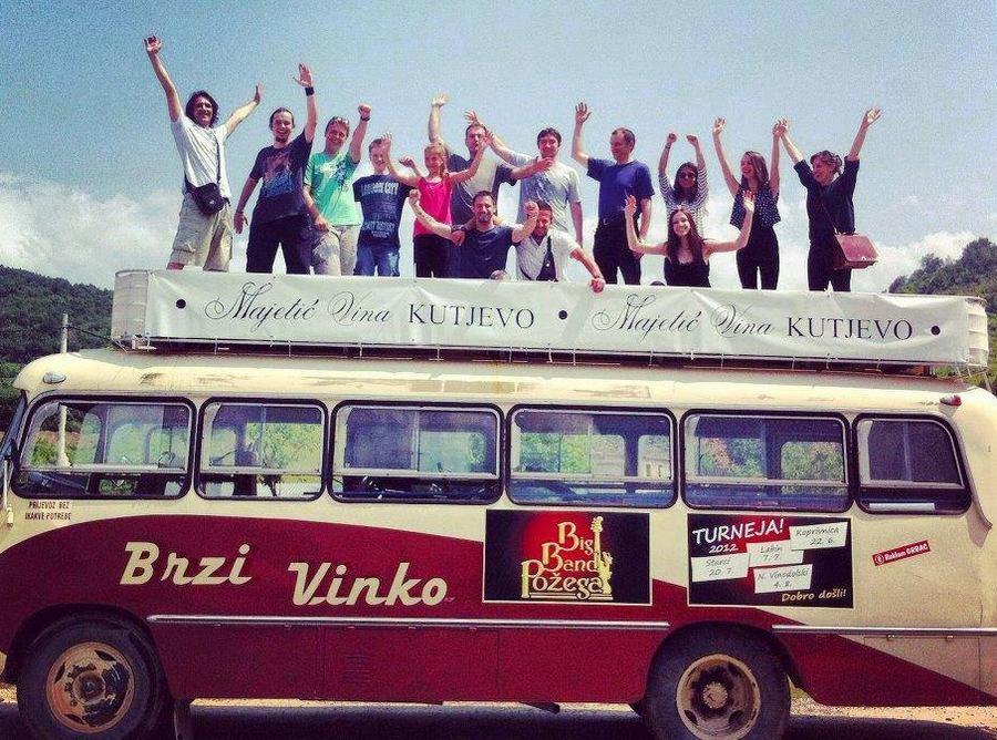Big Band Požega na krovu Brzog Vinka