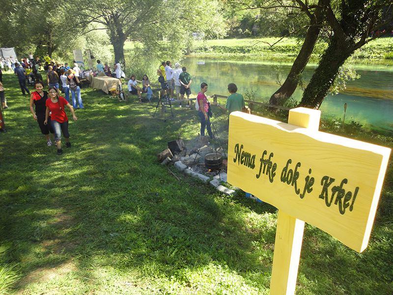 Nema frke dok je Krke: Svi trk na FRK – kninski Festival ruralne kulture