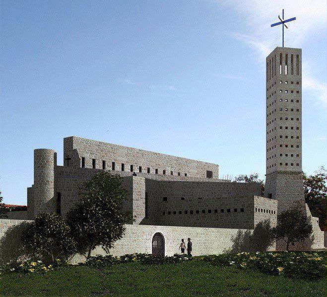 DIV donirao križ za crkvu u Kninu