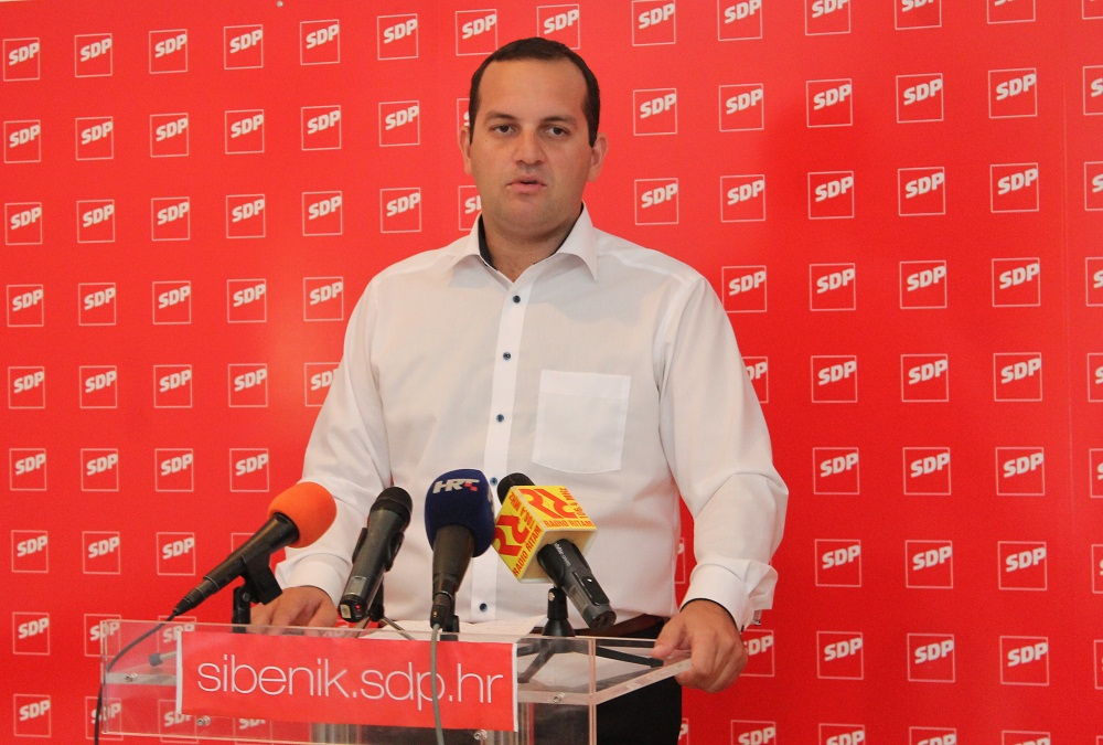 Koordinator SDP-a za IX izbornu jedinicu Ivan Klarin (Foto: Arhiv Trisa)