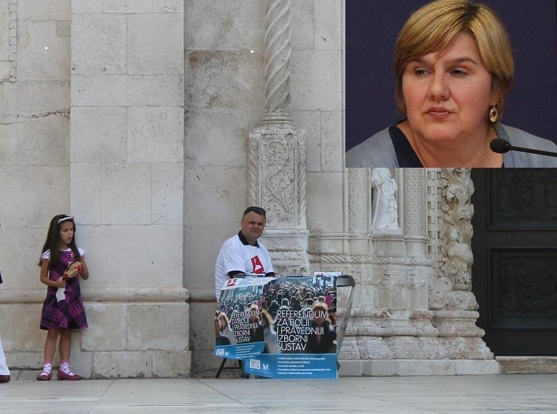 Željka Markić: 'Još uvijek brojimo potpise'