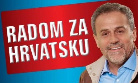 Milan Bandić na predizbornom plakatu (foto Facebook)