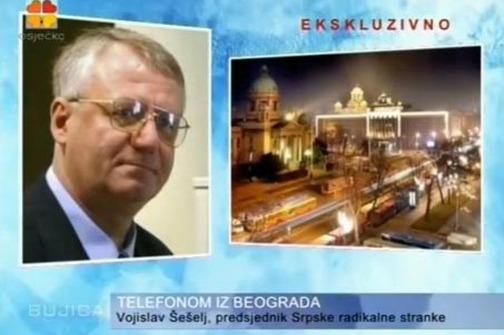 Opća šešeljizacija: HND je šokiran nastupom četničkog čelnika u TV-tvorevini Bujica