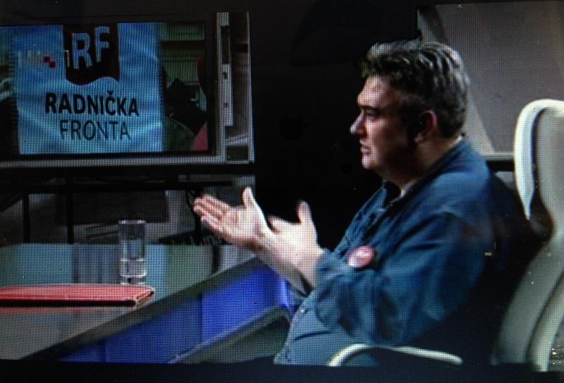 Gost Nu2 Željko Budić iz Radničke fronte:  'Stanje je loše jer živimo u kapitalizmu'
