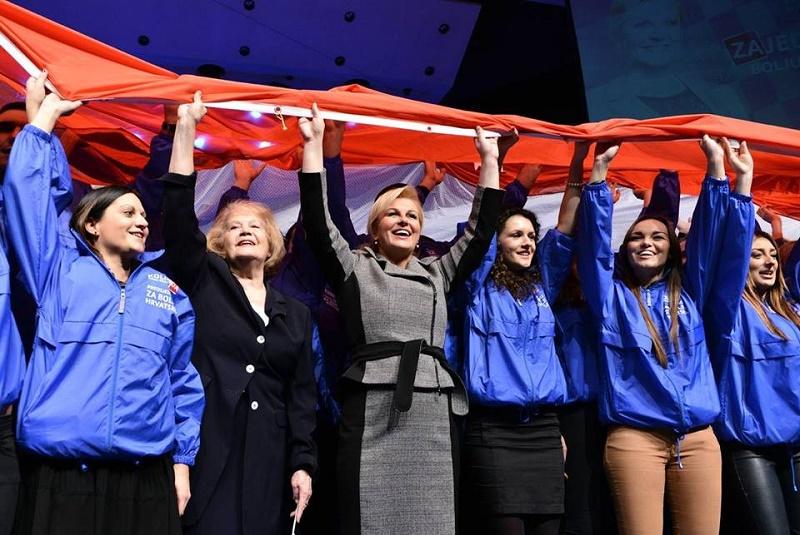 Srijeda, podne, Matica Hrvatska: Pjevaj, Kolinda!