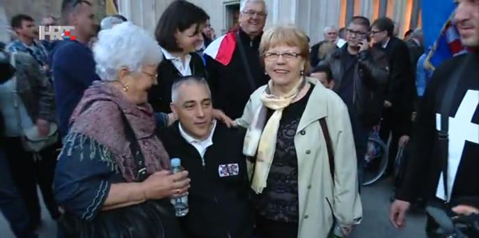 'Skup zajedništva' – na Trgu bana Jelačića 10 tisuća ljudi