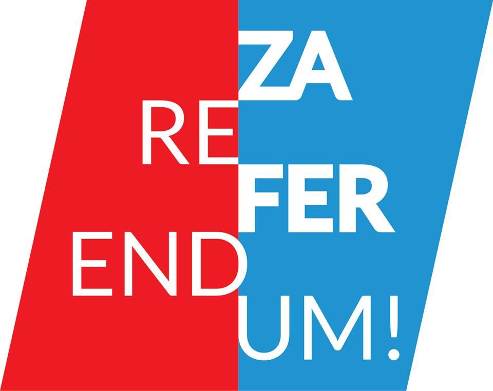 """""""Za referendum"""": """"Referendumom svih referenduma"""" protiv Zakona o referendumu"""