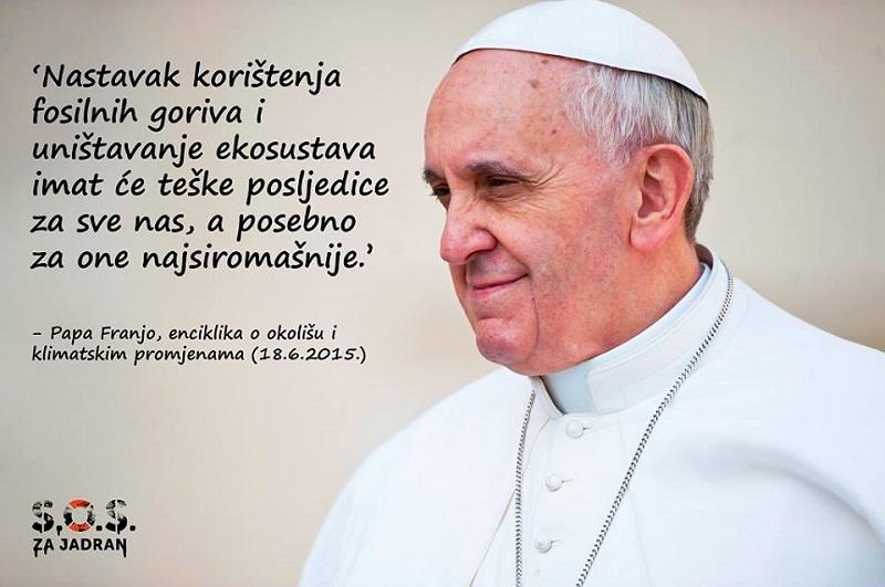 Stiglo pismo papi Franji antinaftašu: Pomozite nam u borbi protiv moćnog, beskrupuloznog i smrtonosnog neprijatelja