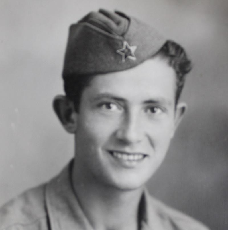 Mladen Bjažić 1945. godine