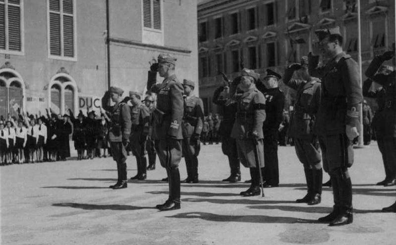 Talijanski fašisti u Šibeniku (6)