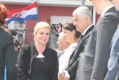 Predsjednica Grabar Kitarović i Dragan Čović (Foto: H. Pavić)