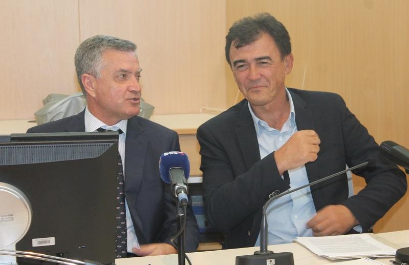Dr. Željko Burić i Goran Radman (Foto: Tris/H. Pavić)