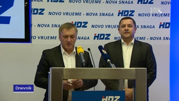 HDZ zabrinut: Milanović stavio desnu ruku na srce, Bandić nosi bedž s Josipom Brozom Titom, na aerodromu ne piše 'doktor Tuđman'