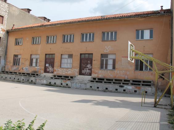 Dvorana Miminac (Partizan) - foto Grad Šibenik