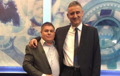 Arhiva: Velimir Bujanec i Tomislav Karamarko - jedan od ranijih susreta podijeljen na Faceboku (Foto FB)