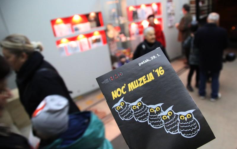 Više od 325 tisuća posjetitelja u Noći muzeja