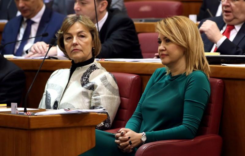Sabor dobio dvije potpredsjednice – Milanku Opačić i Vesnu Pusić