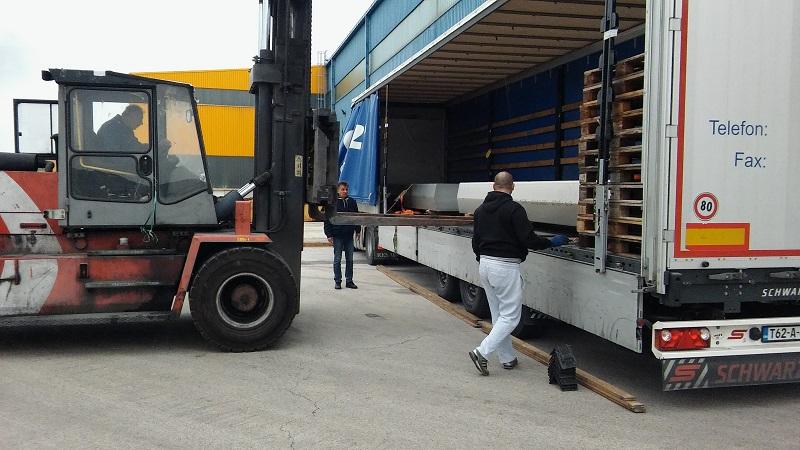 Dobra vijest: U TLM stigli prvi kamioni sa sirovinom iz Mostara!