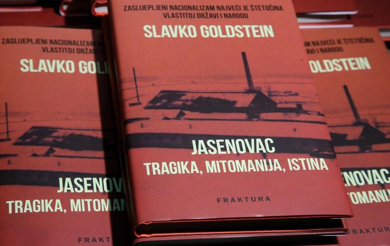 Slavko Goldstein predstavio knjigu 'Jasenovac – tragika, mitomanija, istina'