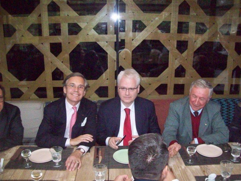 Susret Ive Josipovića i  princa Dimitri Serban Sturdza