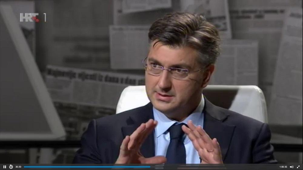 CRO Demoskop za ožujak : HDZ pada, Plenković glavni negativac, Vlada ocijenjena slabom dvojkom