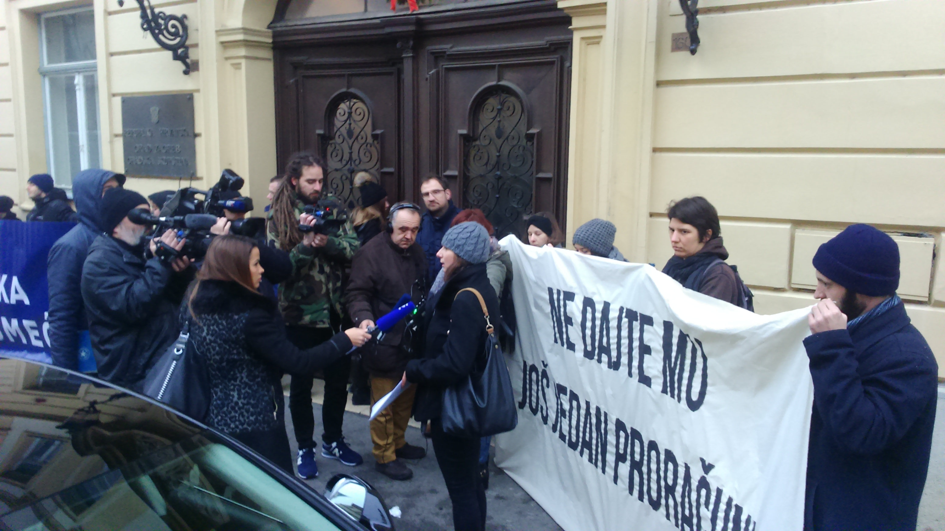 Prosvjed u Zagrebu: Ne dajte Bandiću još jedan proračun