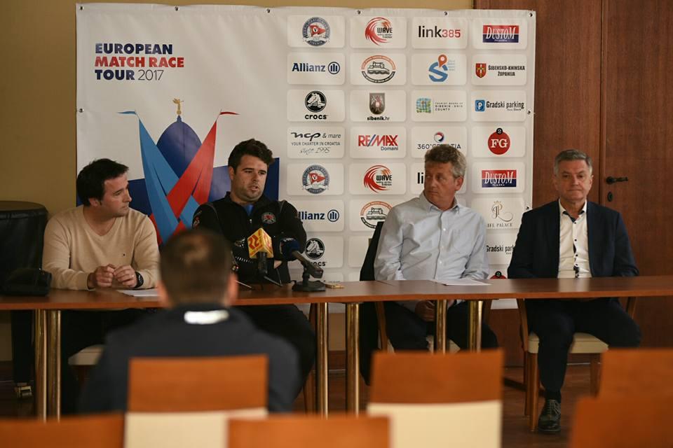 Dino Karađole, Teo Piasevoli, Denis Marinov i Željko Burić (Foto: ŠibenikIN)