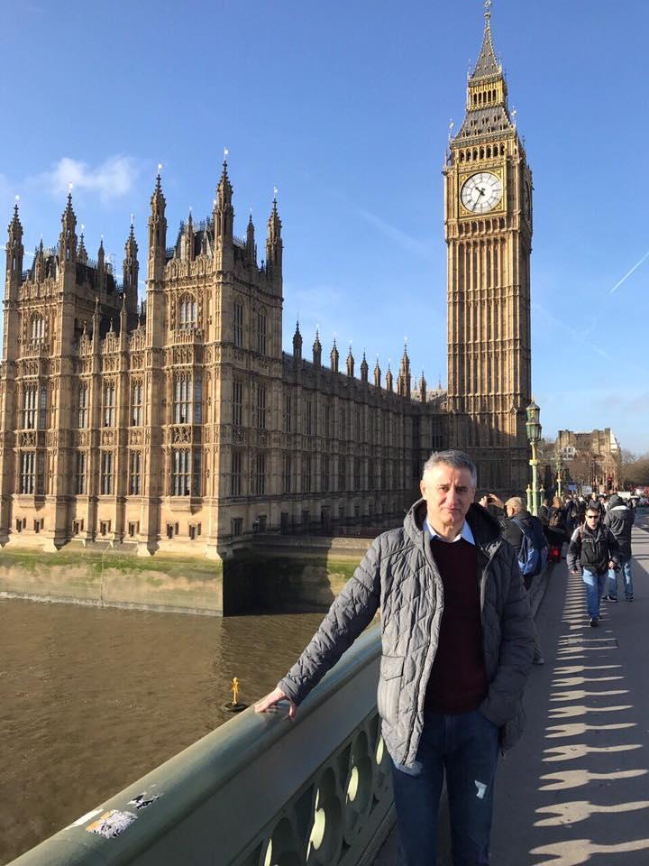 T. Karamarko na Facebooku: Domoljub u Londonu