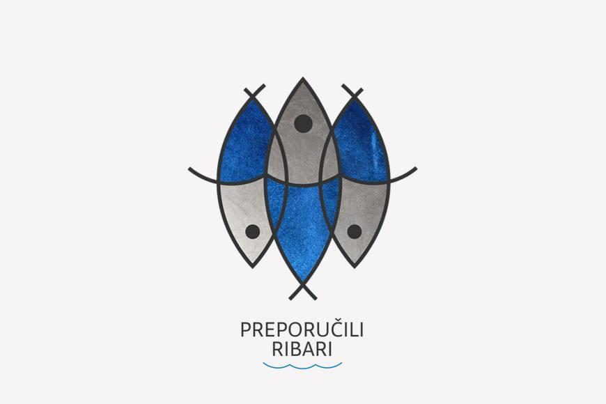 Uz zanimljivu akciju Preporučili ribari ide i  izvrsno likovno rješenje Ante Filipovića Grčića (2FGStudio)