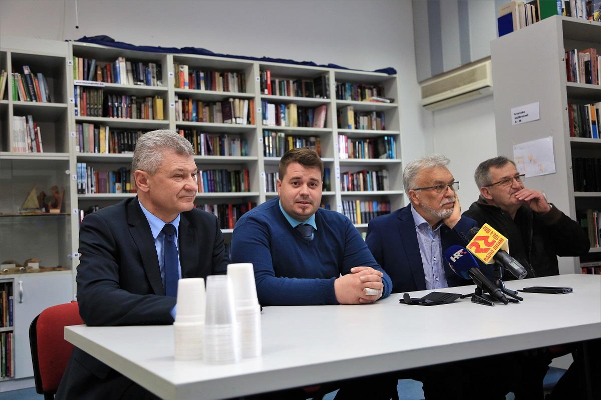 Branko Hrg, Toni Turčinov, Goran Dodig i Tomislav Kale (Foto: Tris/H. Pavić)