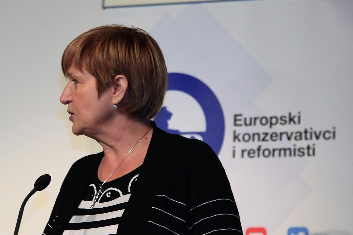 Ruža Tomašić na otvaranju konferencije (Foto: Tris/H. Pavić)