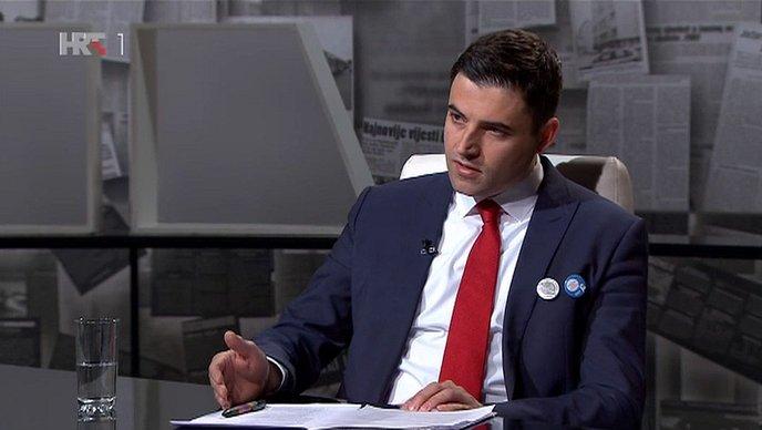 Davor Bernardić (screenshot HRT)