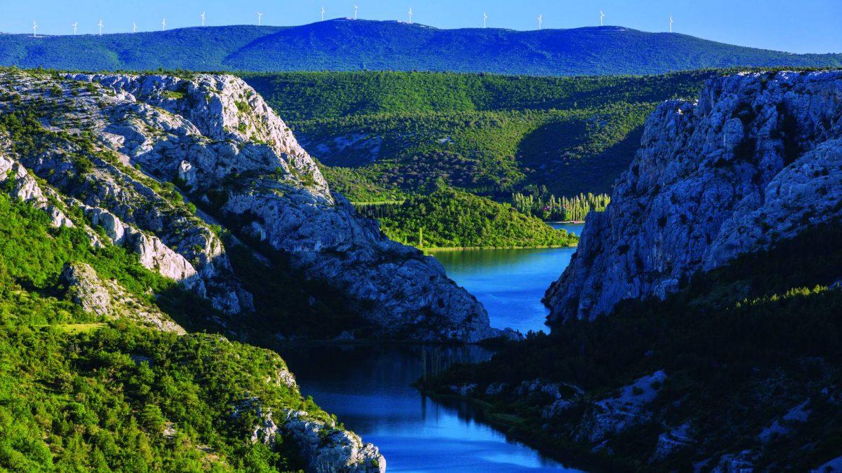 Kanjoj rijeke Krke (foto NP Krka)