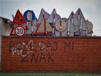Bože daj mi znak (foto: Internet)