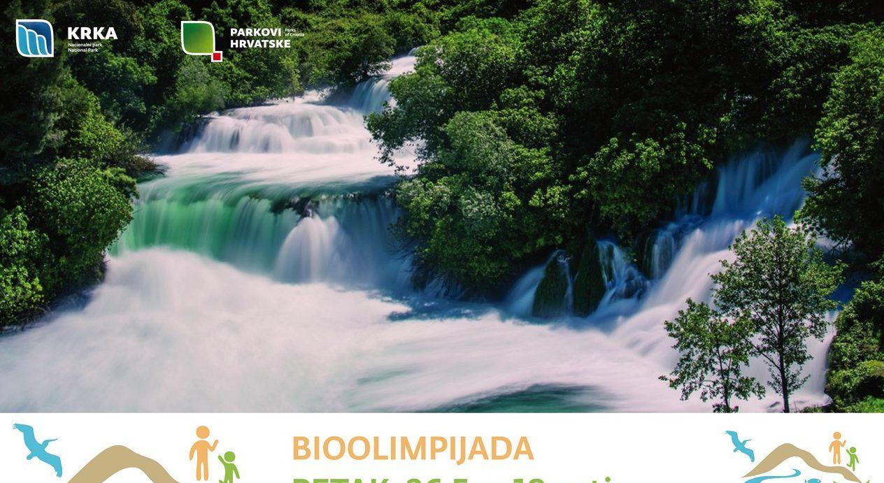 Bioolimpijada na Krki: Skakanje u vreći, potezanje konopa, Kap za slap…