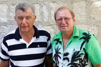 Pokretači povratka života na Žirje:  Maksim Roman i Ivan Dobra (Foto: Tris/H. Pavić)