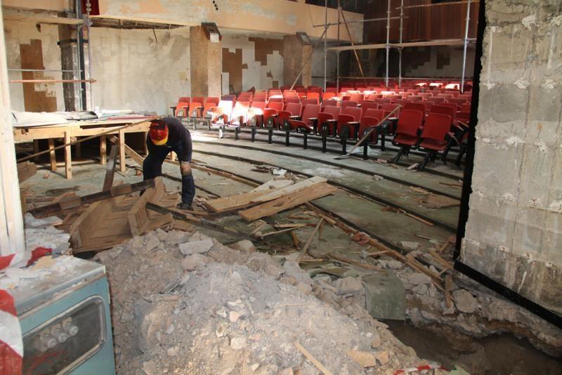 Kino Odeon, snimka iz 2013. /Foto: Grad Šibenik
