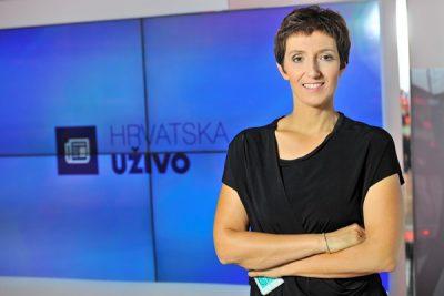 Maja Sever, jedna od voditeljica ukinute Hrvatske uživo (Foto HRT)