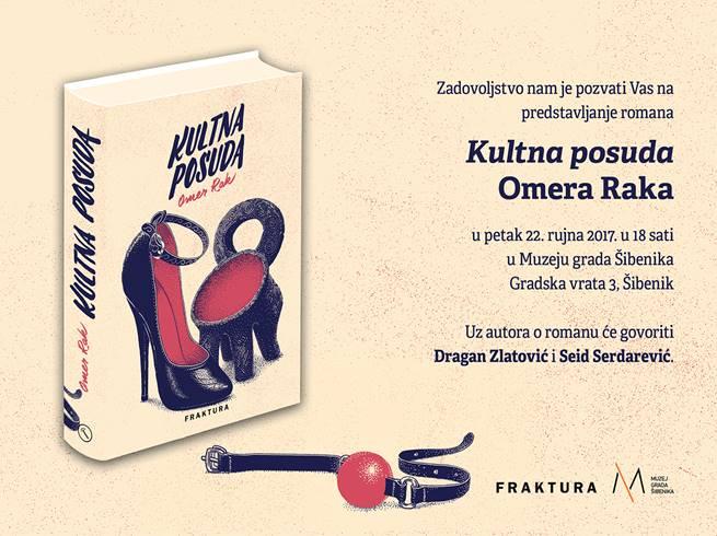 Omer Rak napisao je roman o danilskom ritonu, promocija u petak 22. rujna