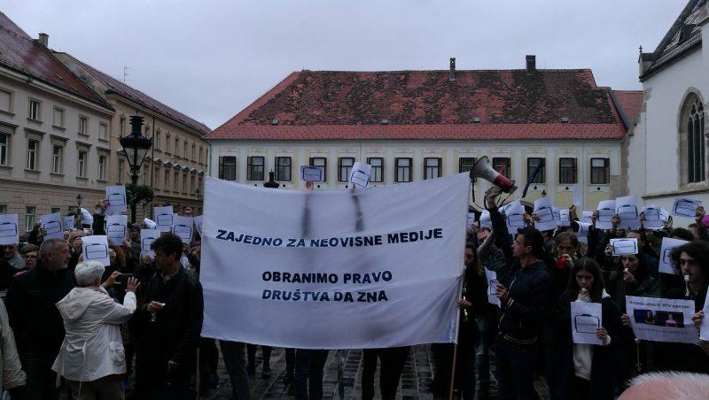 Prosvjed HND-a nije pritisak nego ukazivanje na opasnu praksu na HRT-u