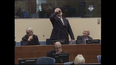 Slobodan Praljak nakon izricanja presude popio otrov, neslužbeno se doznaje da je preminuo