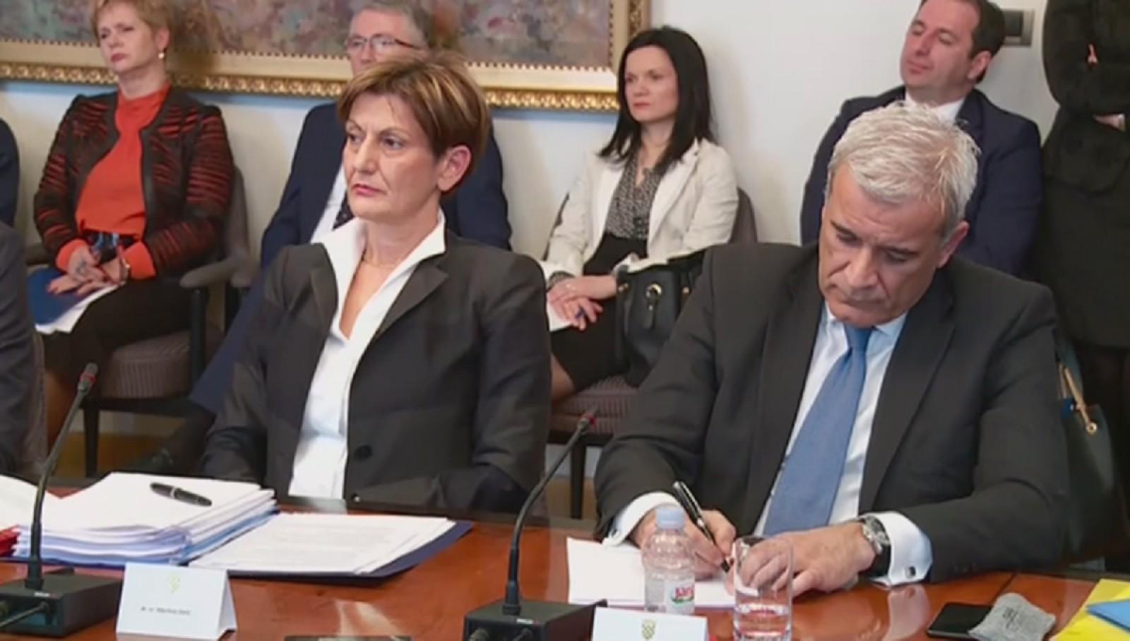 Dalić i Ramljak pred saborskim Odborom za gospodarstvo: Dalić priznala da je autor Lex Agrokora a Ramljak da je pogriješio sa savjetnicima