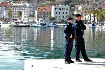Ilustracija: Policija u Splitu - foto TRIS/G. Šimac