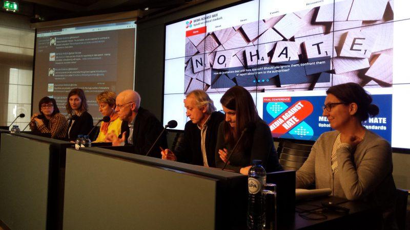 S konferencije 'Media against hate' u Bruxellesu (Foto: EFJ)